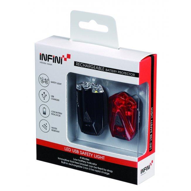 Infini Lava Set USB - zestaw oświetleniowy