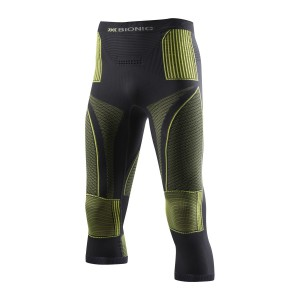 X-Bionic Energy Accumulator Evo Man Pants Medium Charocal/Yellow