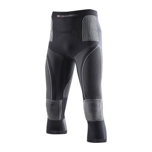 X-Bionic Energy Accumulator Evo Man Pants Medium Charocal/Pearl/Gray 13/14