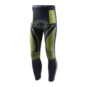 X-Bionic Energy Accumulator Junior Pants Long Marine/Yellow