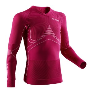X-Bionic Energy Accumulator Junior Shirt Pink/White
