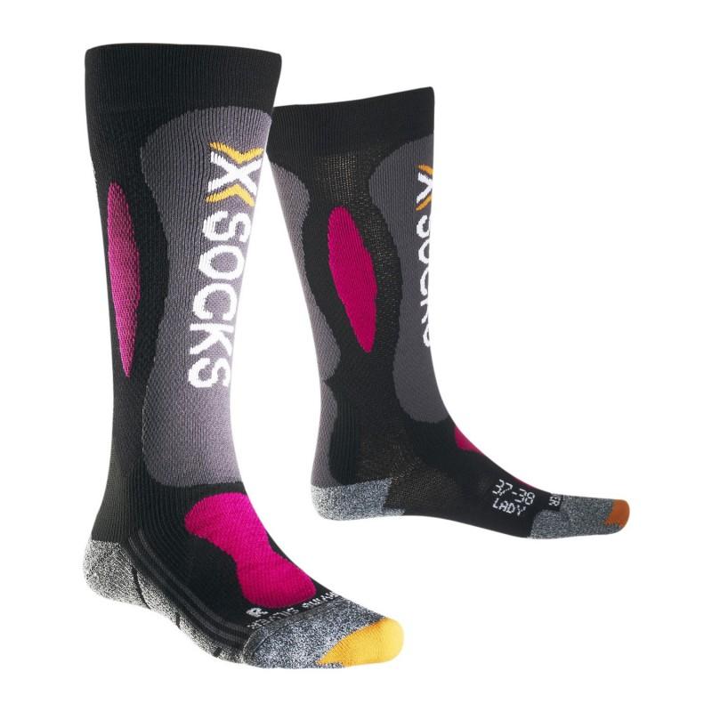 X-Socks Ski Carving Silver Lady