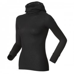 Odlo Shirt L/S With Facemask Warm Black 13/14
