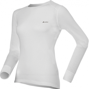 Odlo Tech. Shirt L/S Crew Neck Warm White