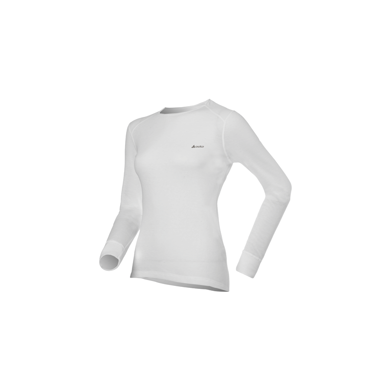 Koszulka Odlo Shirt L/S Crew Neck Warm White