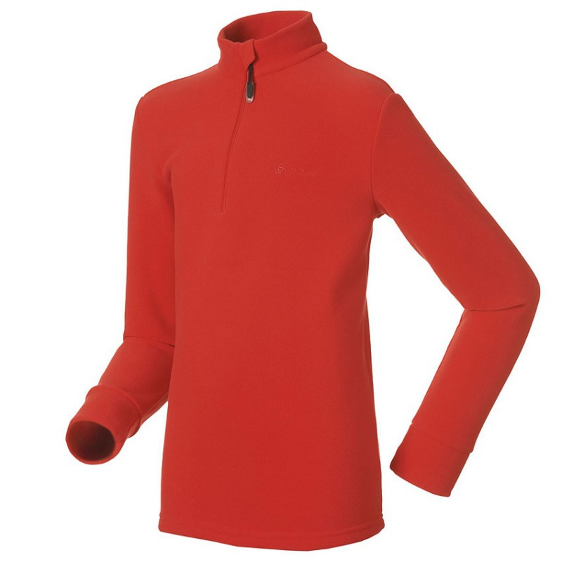 Odlo Stand - Up Collar 1/2 Zip Isola Kids Orange