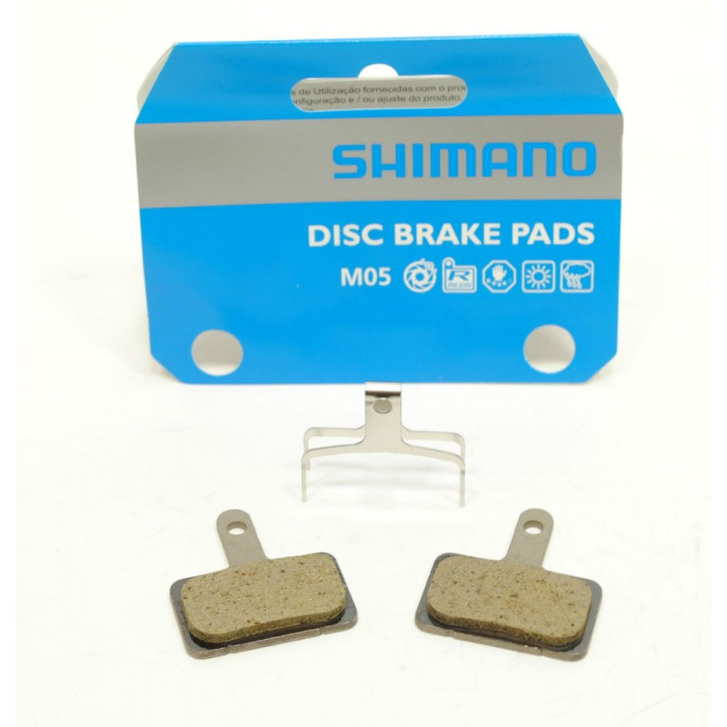 Okładzina Ze Sprężyną Shimano Brm515 M525/C601 Żywiczna (M05) Non-Series