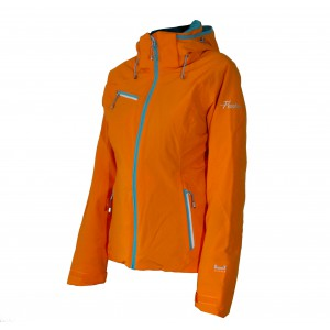 Kurtka narciarska Fischer Chamrousse Jacket Orange Popsicle