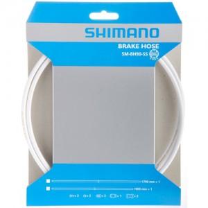 Przewód Olejowy Ham Tarcz. Shimano Deore,1000mm, Smbh59 Do Cięcia,Biały