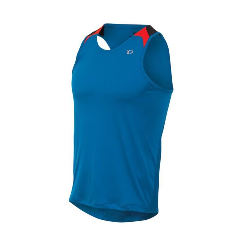 Koszulka Pearl Izumi Fly Singlet Mykonos Blue