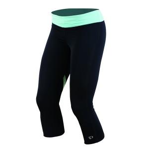 Spodnie Pearl Izumi W Fly ¾ Tight Black/Aruba Blue