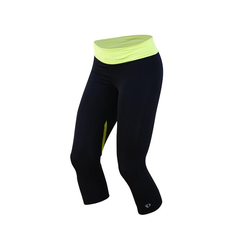 Spodnie Pearl Izumi W Fly ¾ Tight Black/Sunny Lime