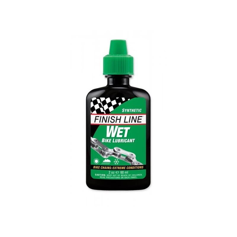 Finish Line Cross Country Wet Lube 60 ml Squeeze Bottle
