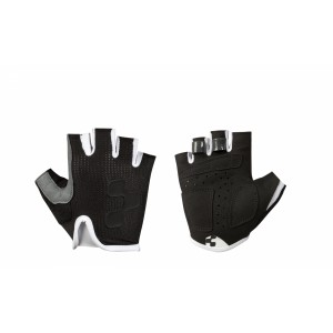 Cube Short Gloves Junior Race Blackline