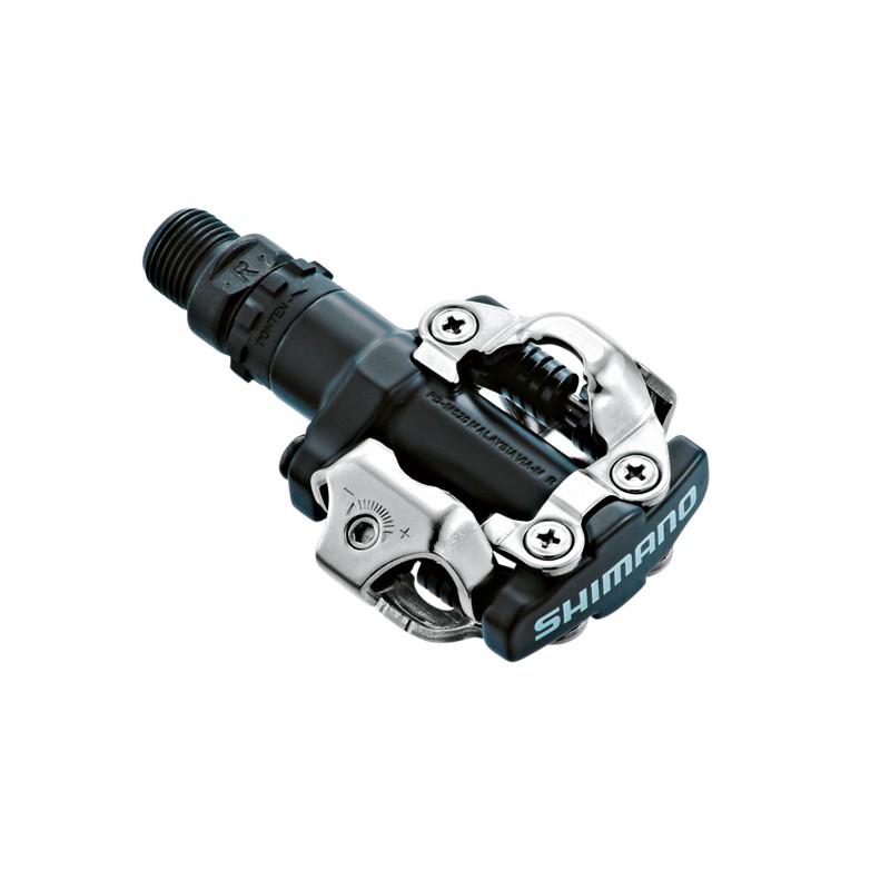 Shimano SPD M520 Czarne + Bloki