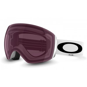 Oakley Flight Deck Matte White / Prizm Rose