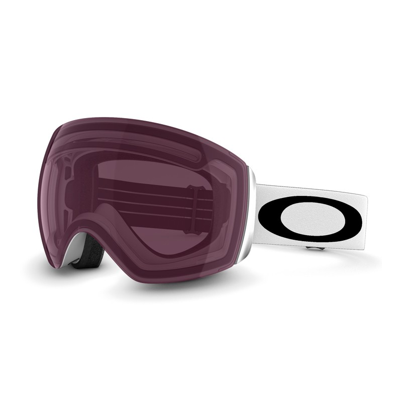 Gogle Oakley Flight Deck Matte White Prizm Rose