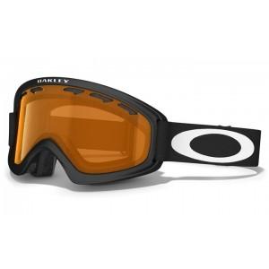 Gogle Oakley O2 XS Matte Black/Persimmon