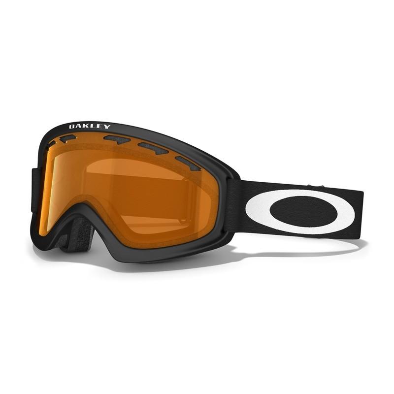 Oakley O2 XS Mattschwarz/Persimmon