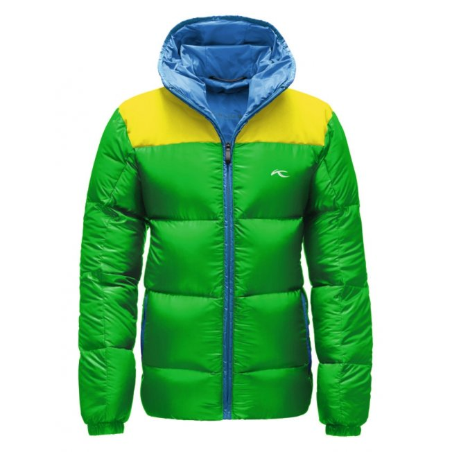 Kjus Arctic Down Jacket Clover-Sulphur