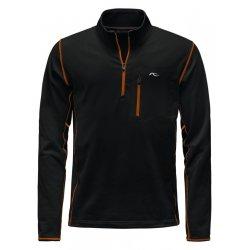 Kjus Hydraulic Halfzip Black-K Orange