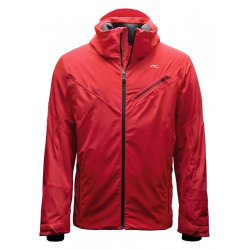 Kjus Line Jacket Scarlet
