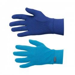 Odlo Gloves Warm Kids Vivid Blue - Mazarine Blue 14/15