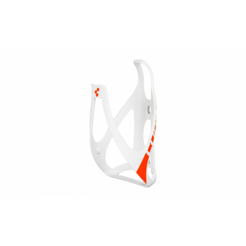 Cube Bottle Cage Hpp Matt White´N´Flashred 2015