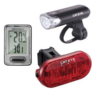 Cateye HL-EL135N / TL-LD135-R / Velo 7