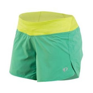 Spodenki do biegania Pearl Izumi W Fly Green/Yellow