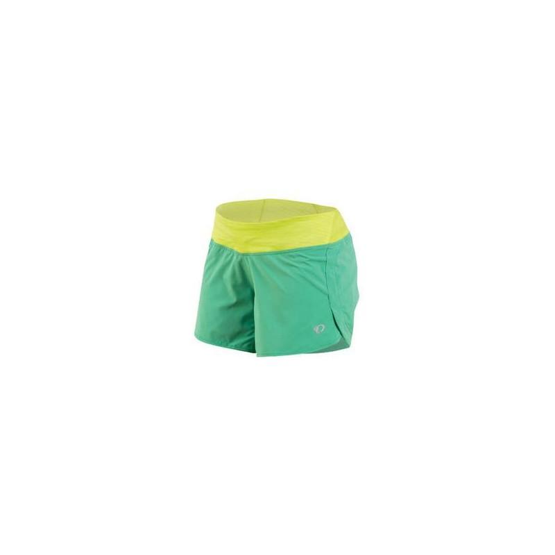 Spodenki do biegania Pearl Izumi W Fly Green/Yellow