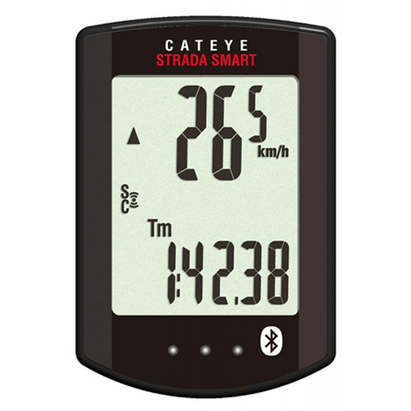 Cateye Strada Smart Cc-Rd500b + Speed And Heart Rate Sensors