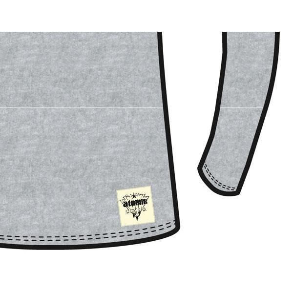 Atomic T-Shirt Ls Classic W Grey