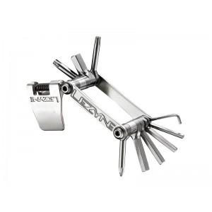 Lezyne SV-10 10 kluczy srebrny