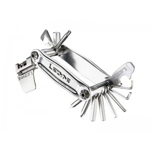 Lezyne Stainless-19 19 kluczy Srebrny