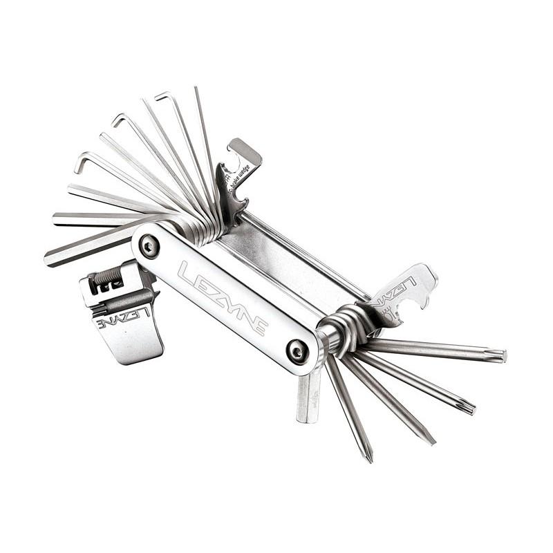 Lezyne Blox-23 23 klucze srebrny