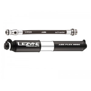 Lezyne Pressure Drive HP S ABS 120psi 170mm black