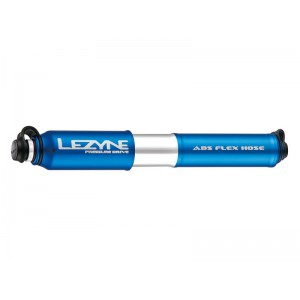 Lezyne Pressure Drive HP M ABS 120psi 216mm blue