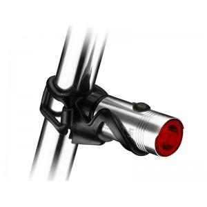 Lezyne Hecto Drive 15 lum USB srebrna