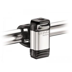 Lezyne LED KTV Drive 15 lum USB Silber