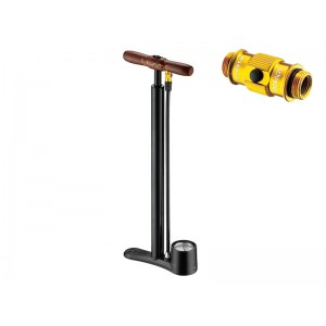 Lezyne Travel Steel Floor Drive ABS 160psi czarna