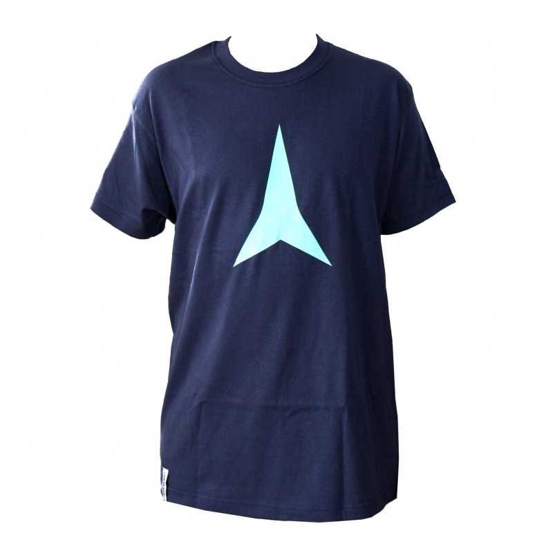 Atomic T-Shirt Star Force Navy