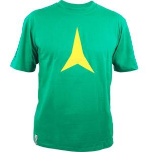 Atomic T-Shirt Star Irish Green