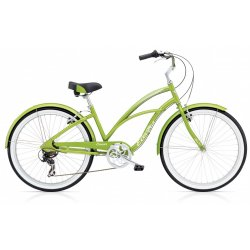 Electra Cruiser Lux 7D - Green Metallic