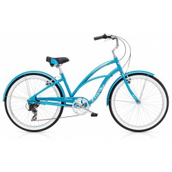 Electra Cruiser Lux 7D - Blau Metallic