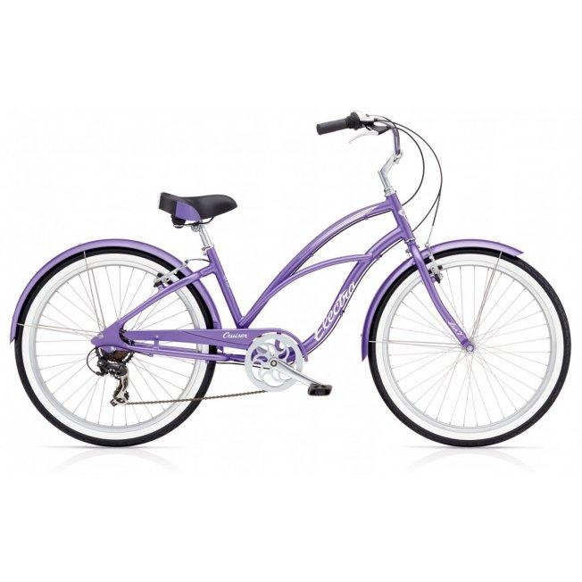 Electra Cruiser Lux 7D - Purple Metallic