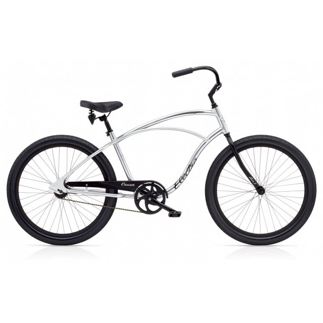 Electra Cruiser Lux 1 - Polished Silver