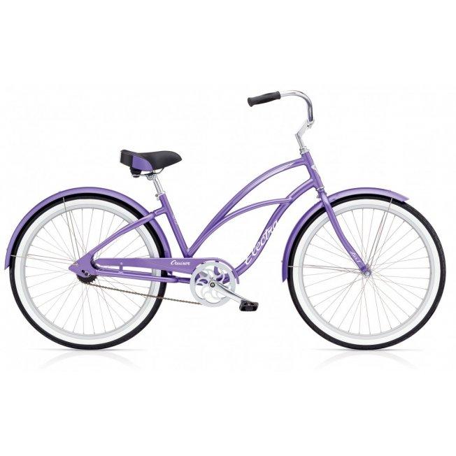 Electra Cruiser Lux 1 - Violett Metallic