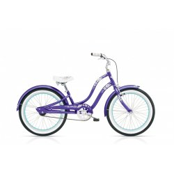 Electra Hawaii Kid's 1 20″ – Fioletowy Metalik