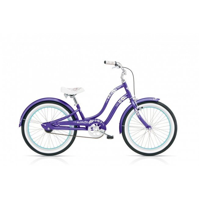 Electra Hawaii Kid's 1 20″ – Purple Metallic